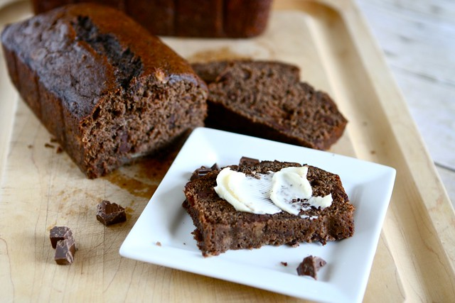 Chocolate Banana Bread 002