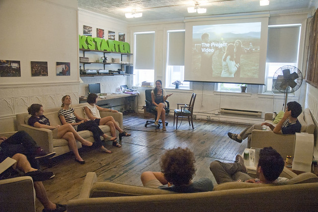 New York Arts Practicum visits Kickstarter