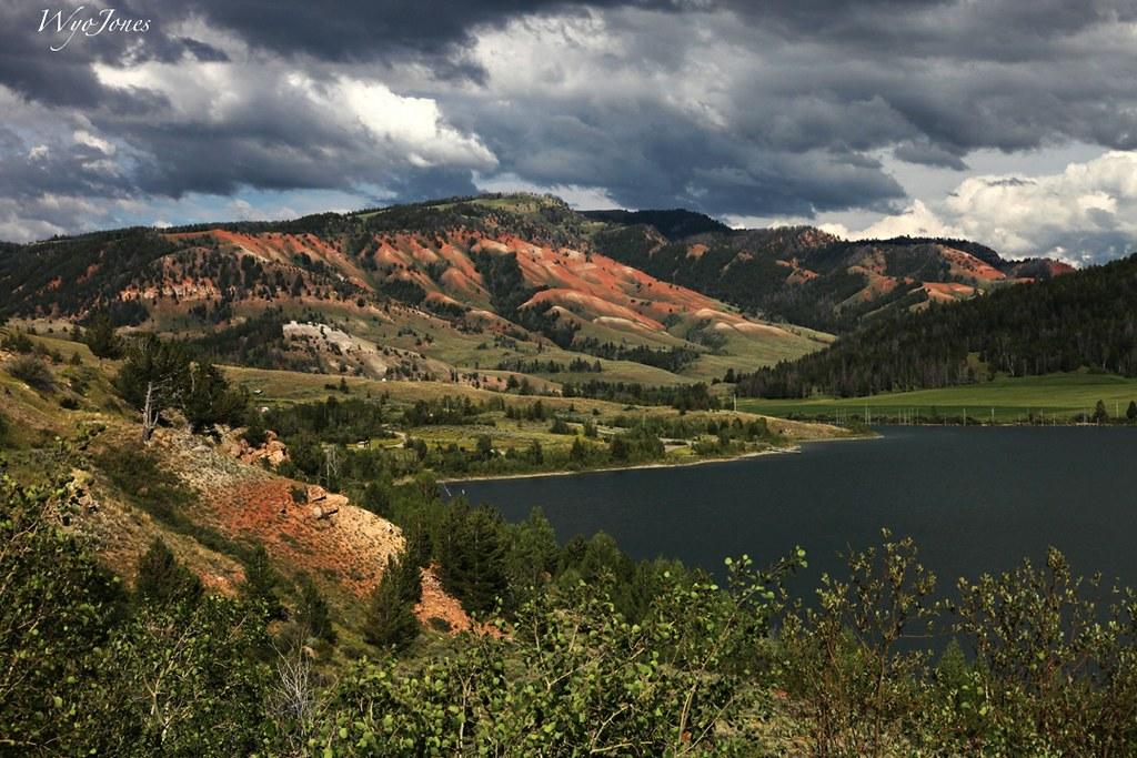 Lower Slide Lake - Wyoming - Around Guides