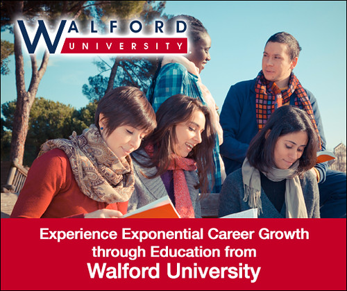 Experience career progression at Walford University