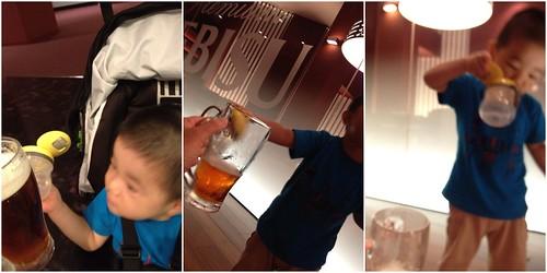 乾杯とらちゃん@エビスビール記念館 (2012/8/1)