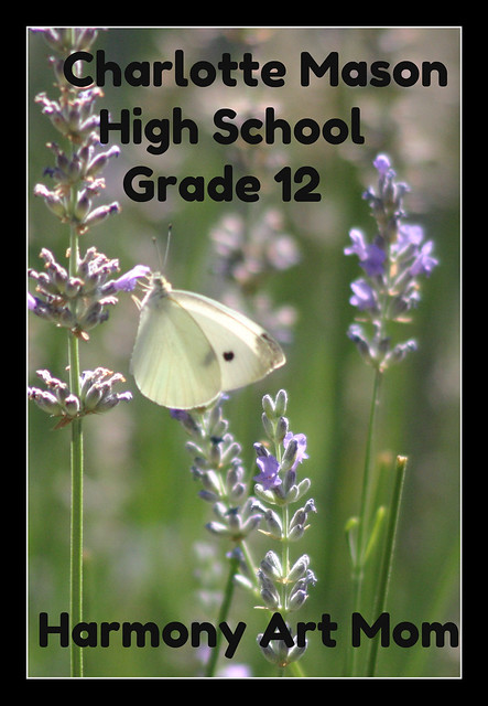 Charlotte Mason High School Grade 12 Button