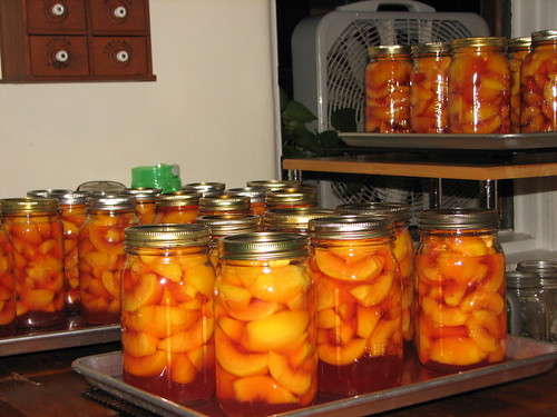 35 more quarts of peaches