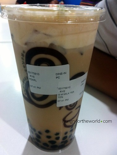 gong cha house special milk milk tea