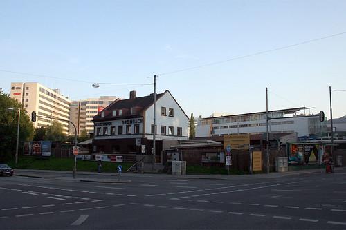 Holzkontor - Ecke Rosenheimer Straße, Orleansstraße