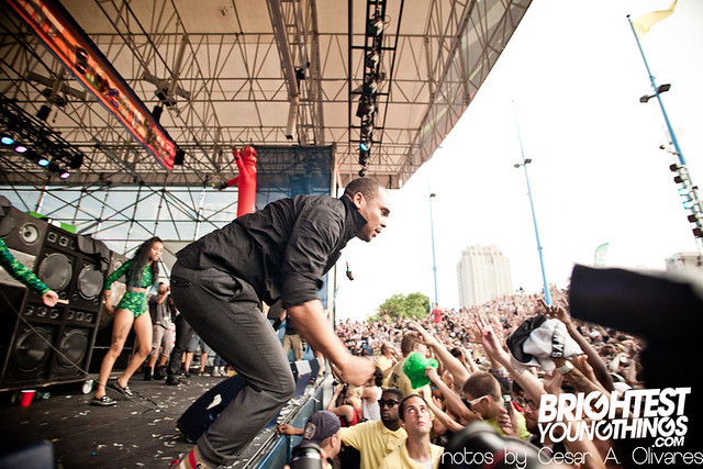 Mad Decent Block Party 2012 - Philadelphia - Major Lazer