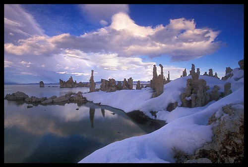 Mono Lake South Tufa Winter
