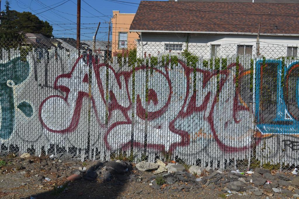 ANEML, AOD, PI, OH, Graffiti, Street Art, Oakland,