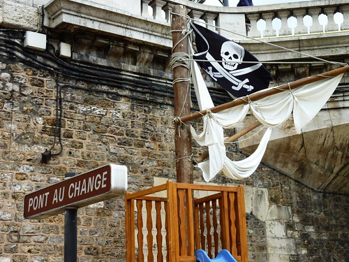 Jolly roger du Pont au change