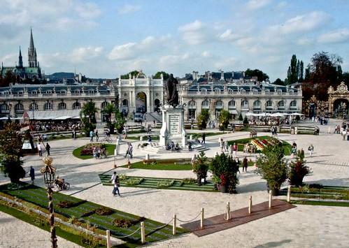 FR Place Stanislas, Place de la Carrière and Place d'Alliance in Nancy