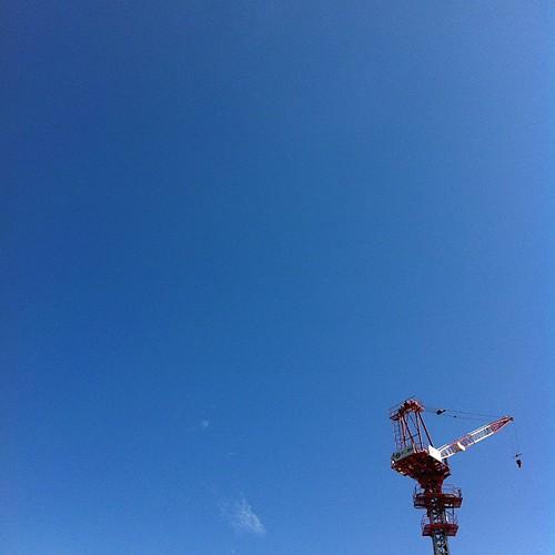 今日も朝から暑いねー #ナツソラ #sky