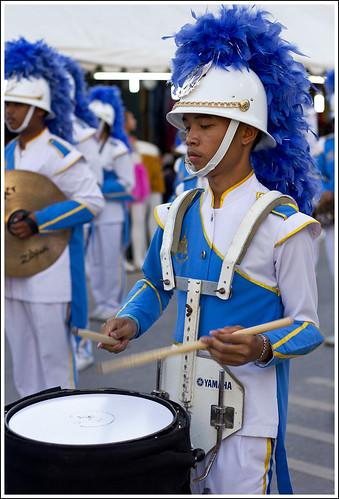 Thai drummer boy