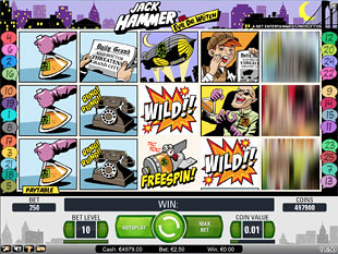 Jack Hammer slot game online review