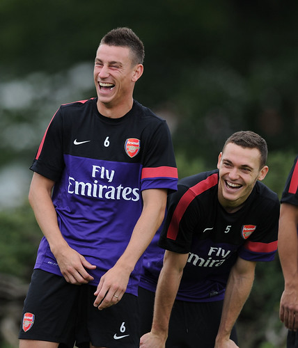 Laurent Koscielny and Thomas Vermaelen