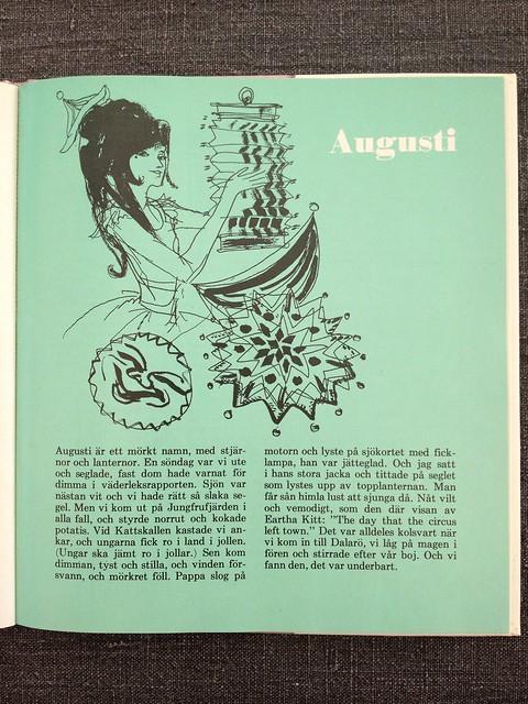 Evas kalender augusti 1967