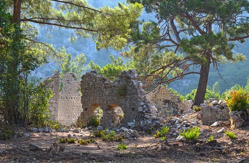 Ancient Ruins at Olympos Beach