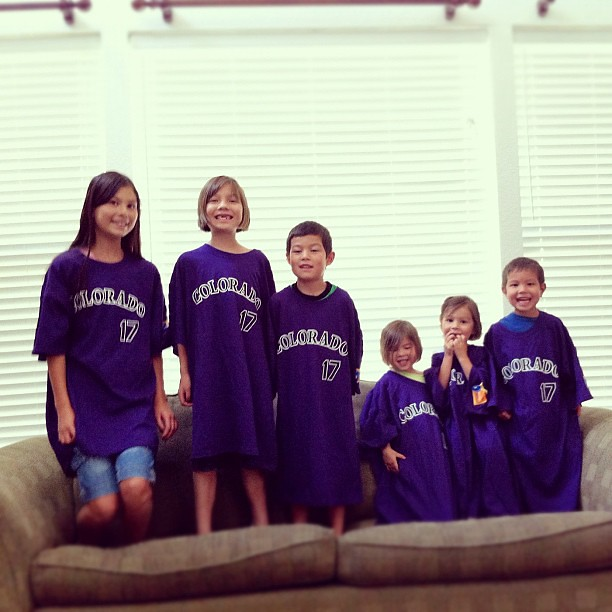 One size fits all @Rockies t-shirts.
