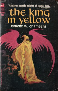 The King in Yellow by Robert W. Chambers. Ace 1965. Cover artist Jack Gaughan