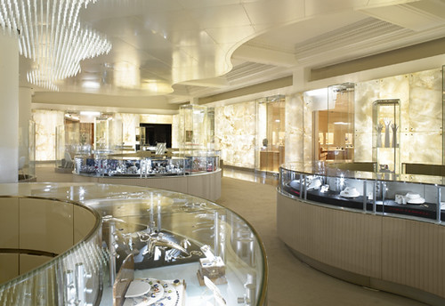 Harry Winston opens at Harrods, London