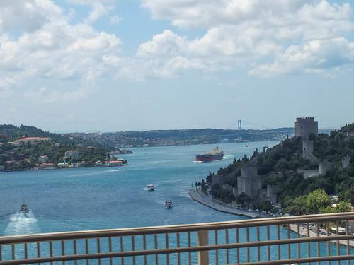 Boszporusz hidak és az Európai Erőd
