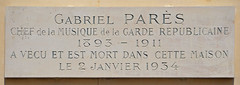 Photo of Grey plaque № 11106