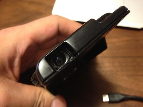 iPhone プロジェクター レンズ