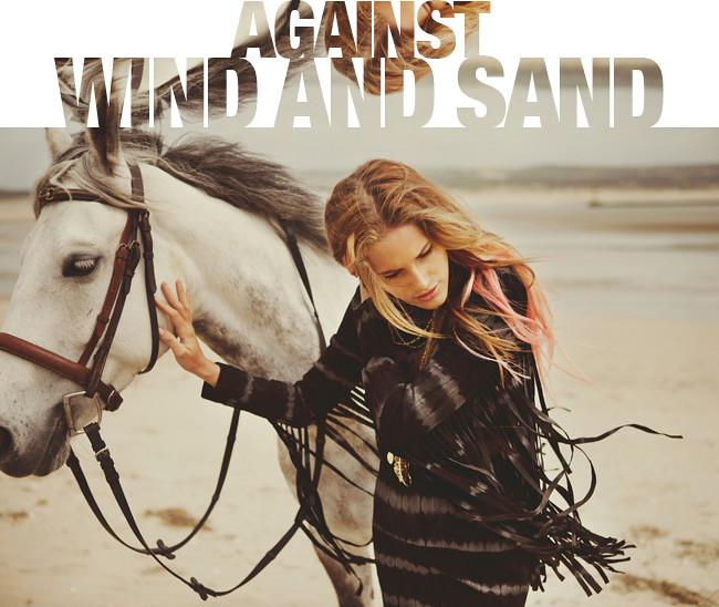 Against wind and sand