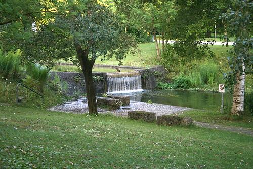 Wasserfall - Westpark