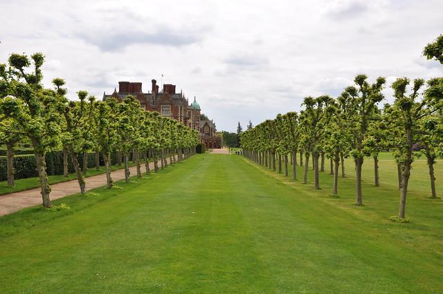 Gardens at Sandringham House