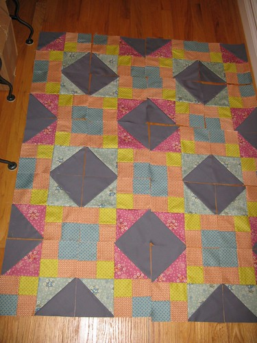 Sew Intertwined, outer blocks