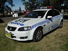 2011 Holden VE Commodore Omega sedan - NSW Police