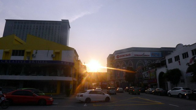 (Almost) Sunset: At Malacca Melaka