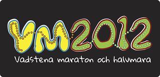 Vadstena maraton och halvmara 2012