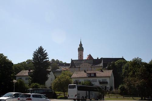 Kloster Andechs - Gesamtansicht
