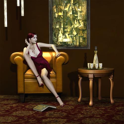 Adel-dress-wine