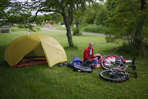 Fureai Campground in Odaito (Hokkaido, Japan)