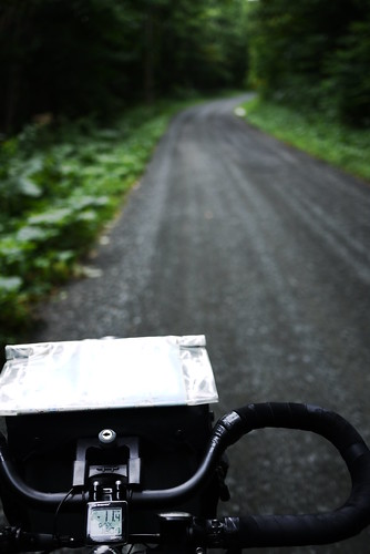 Gravel Route 70 between Bibaushi and Ashibetsu (Hokkaido, Japan)