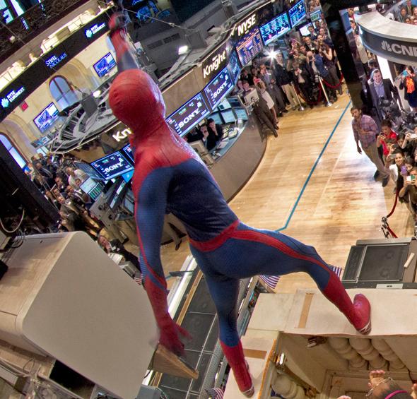 Wall Street e a Cultura Pop homem aranha