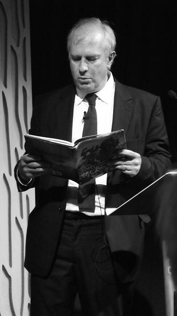 Edinburgh Book Festival 2012 - Martin Rowson 05