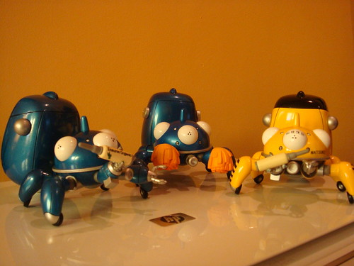 Tachikoma Cheerful Japan!, Nendoroid #227 by Good Smile Company.