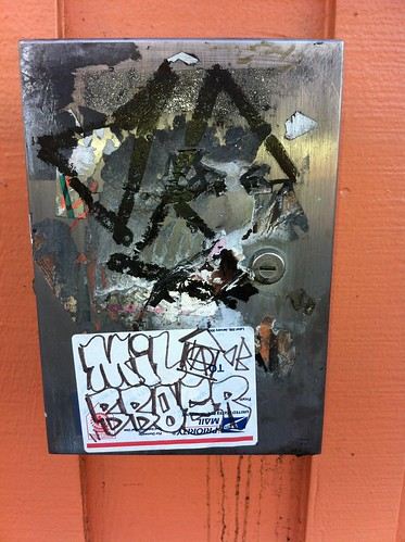 Street Art Stickers Echo Park by WE HATE FLICK R MAIL - EMAIL US: info@bomit.com