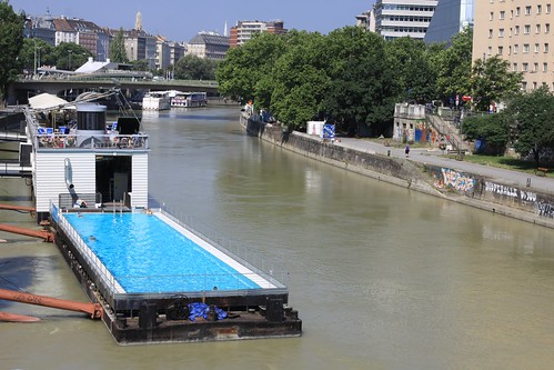 pool in canal