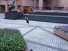 恵比寿ガーデンプレイスにて (2012/8/19)