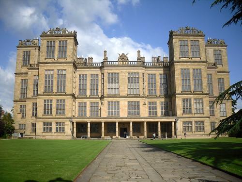 Hardwick Hall, front