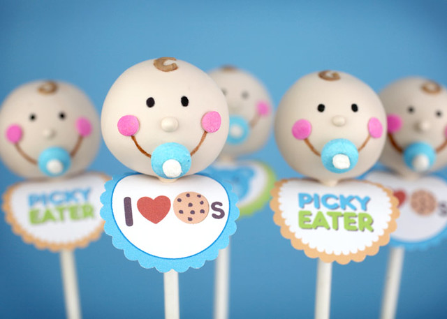 Pacifier Cake Pops