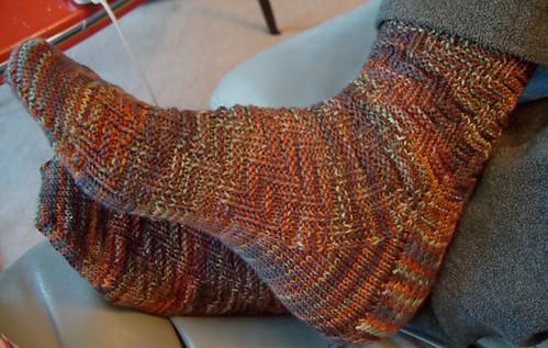 barcelona pair #2 by gradschoolknitter