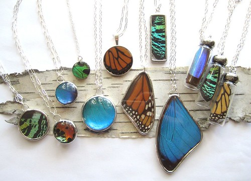 New store: Mud Pie Pottery - butterfly jewelry by PopkoShop by PoPkO!