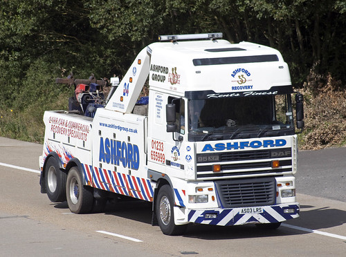 DAF XF recovery AS03 LRS