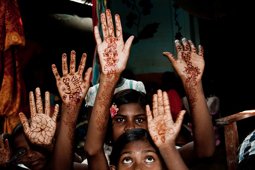 Henna at the Wedding