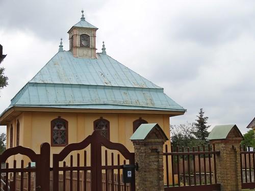 The kenessa, Karaite prayer house in Trakai, Lithuania